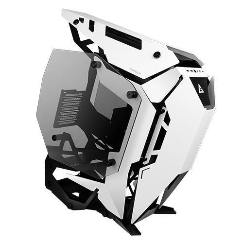 Antec Torque Black White Open Frame Case, E-ATX, ATX, Micro-ATX, ITX. Tempered Glass, USB 3.1 Type-C, USB